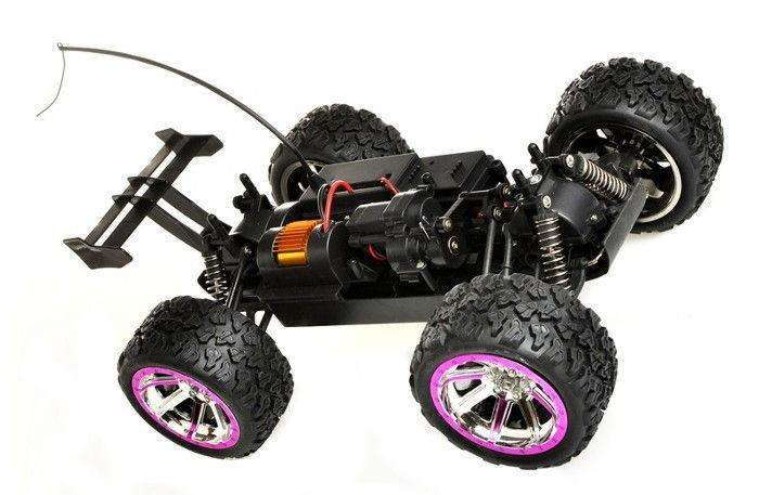 Land Buster 1:12 Monster Truck RTR 2.4GHz LiIon 1500mAh 45km/h - Czerwony