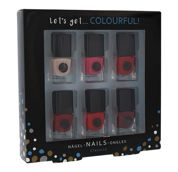 2K Let´s Get Colourful! Classics  Lakier do paznokci W 5 ml Lakier do paznokci 6x5 ml