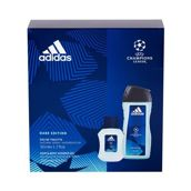 Adidas UEFA Champions League Dare Edition Woda toaletowa 50 ml + Żel pod prysznic 250 ml