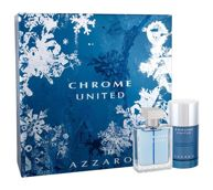 Azzaro Chrome United Woda toaletowa 50 ml + Deostick 75 ml