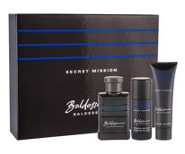 Baldessarini Secret Mission Woda toaletowa 50 ml + Żel pod prysznic 50 ml + Deostick 40 ml