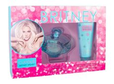 Britney Spears Curious   Woda perfumowana W 100 ml Edp 100ml + 100ml Krem do ciała