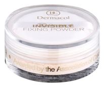 DERMACOL_Invisible Fixing Powder utrwalający puder transparentny Light 13g