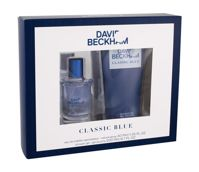 David Beckham Classic Blue Woda toaletowa 40 ml + Żel pod prysznic 200 ml