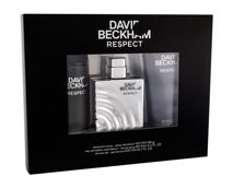 David Beckham Respect  Woda toaletowa 90 ml + Żel pod prysznic 200 ml + Dezodorant 150 ml