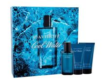 Davidoff Cool Water Woda toaletowa 40 ml + Żel pod prysznic 50 ml+ Balsam po goleniu 50 ml