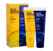 Ecodenta Toothpaste Pineapple Mornings  Pasta do zębów U 100 ml Pasta do zębów Pineapple Mornings 100 ml + Pasta do zębów Bilberry Nights 100 ml