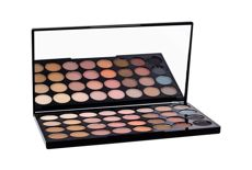 Makeup Revolution London Ultra Eyeshadows Palette Flawless Matte  Cienie do powiek W 16 g