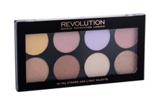 Makeup Revolution London Ultra Strobe And Light Palette  Rozświetlacz W 11,5 g
