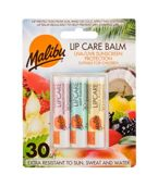 Malibu Lip Care  Watermelon Balsam do ust W 4 g Balsam do ust 4 g + Balsam do ust Mint 4 g + Balsam do ust Vanilla 4 g