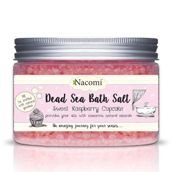 NACOMI_Dead Sea Bath Salt sól do kąpieli Sweet Raspberry Cupcake 450g