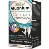 NATURES AID_Quantum Optimum Performarce Tiredness and Fatigue suplement diety 30 tabletek
