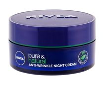 Nivea Pure & Natural Anti-Wrinkle  Krem na noc W 50 ml