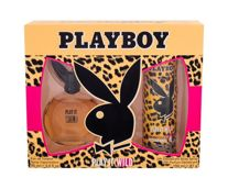 Playboy Play It Wild For Her Woda toaletowa 90 ml + Dezodorant 150 ml