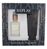 Replay Jeans Original! For Him  Woda toaletowa 30 ml + Żel pod prysznic 100 ml