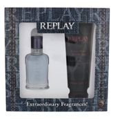 Replay Jeans Spirit! For Him Woda toaletowa 30 ml + Żel pod prysznic 100 ml