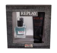 Replay Replay For Him Woda toaletowa 30 ml + Żel pod prysznic 100 ml