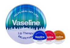 Vaseline Lip Therapy  Cocoa Butter Balsam do ust W 20 g Balsam do ust 20 g + Balsam do ust 20 gRosy Lips + Balsam do ust 20 Original + Metalowy słoiczek