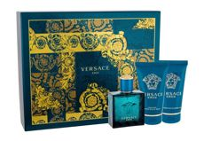 Versace Eros Woda toaletowa 50 ml + Shower ge 50 ml + After shave balm 50 ml