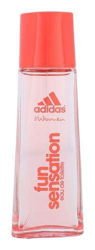 Adidas Fun Sensation For Women   Woda toaletowa W 50 ml