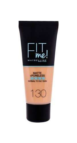 Maybelline Fit Me! Matte + Poreless 130 Buff Beige Podkład W 30 ml