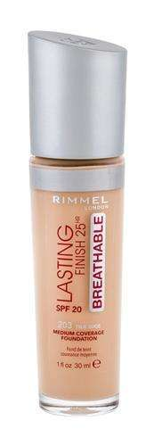 Rimmel London Lasting Finish Breathable 203 True Beige Podkład W 30 ml